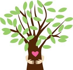 Tree Hugger print art