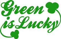 Green Is Lucky print art