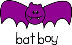 Bat Boy print art