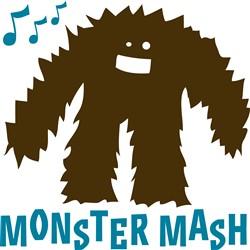 Monster Mash print art