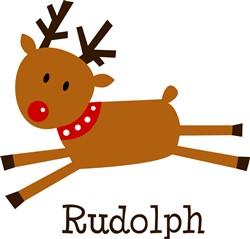 Rudolph The Reindeer print art