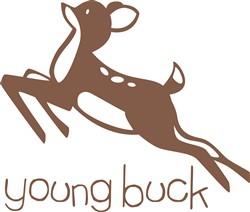 Young Buck print art