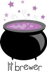 Cauldron Lil' Brewer print art