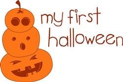My First Halloween print art