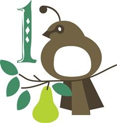 Partridge In A Pear Tree print art