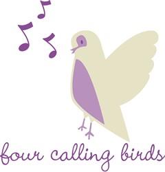 Calling Birds print art