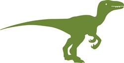 Raptor Dinosaur print art