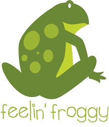 Feeling Froggy print art