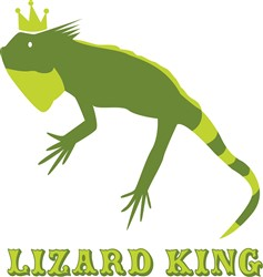 Lizard King print art