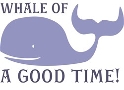 Whale Of A Good Time print art