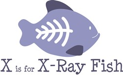 X Is For X-Ray  print art