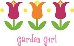 Garden Girl print art