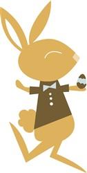 Boy Bunny print art