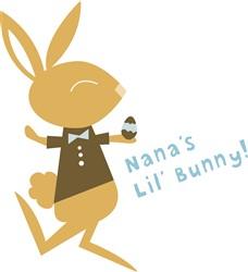 Nanas Lil Bunny print art