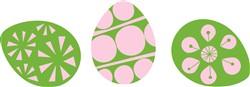 Eggs print art