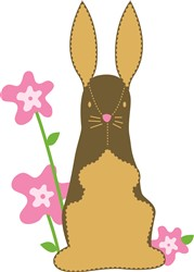 Easter Rabbit print art