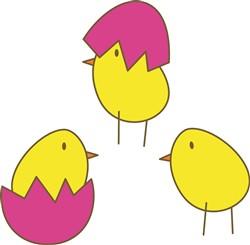 Chicks print art