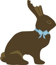 Chocolate Bunny print art