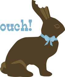 Ouch Chocolate  print art