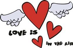 Love In The Air print art