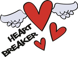 Heart Breaker print art