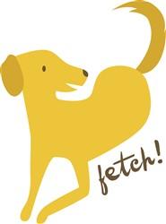 Fetch Retriever print art