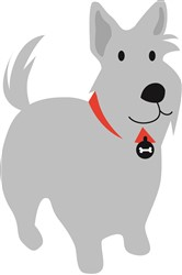 Scottish Terrier print art