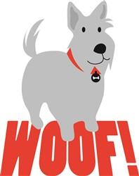 Terrier Woof print art