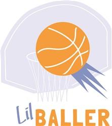 Lil Baller print art