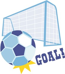 Soccer Goal print art