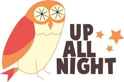 Up All Night print art