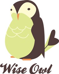 Wise Owl print art