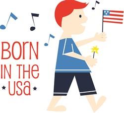 Born In The USA print art