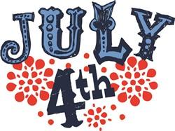 July 4th print art