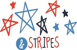 Stars & Stripes print art