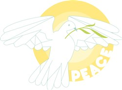 Peace Dove print art