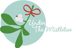 Under the Mistletoe print art
