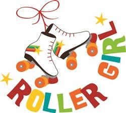 Roller Girl print art