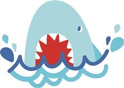 Shark Attack print art