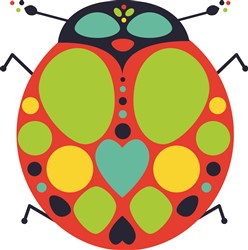 Ladybug print art