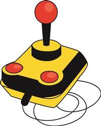 Video Game Joystick print art