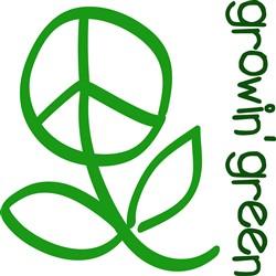 Growin Green print art