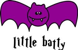Little Batty print art