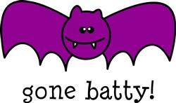 Gone Batty print art
