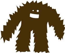 Furry Monster print art