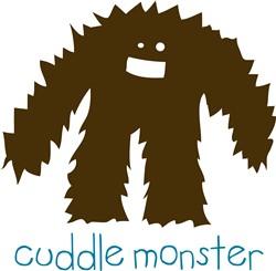 Cuddle Monster print art