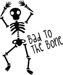 Bone Skeleton print art