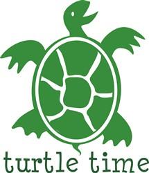 Green Turtle Time print art