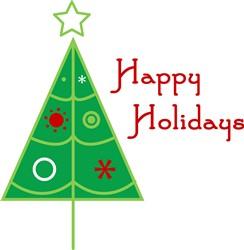Christmas Tree print art