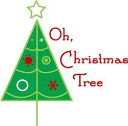 Oh Christmas Tree print art